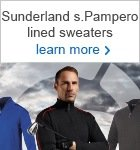 Sunderland Pampero lined sweater