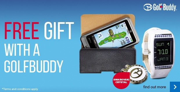 Free gift with a GolfBuddy