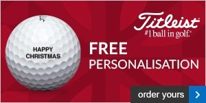Free Personalisation on Titleists, from £17.99